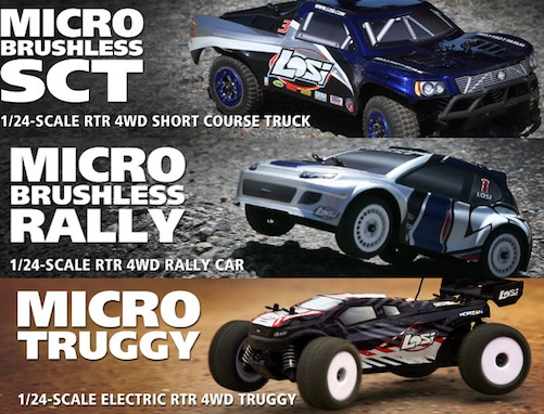 Micro Sct/Rally/Truggy 1/24