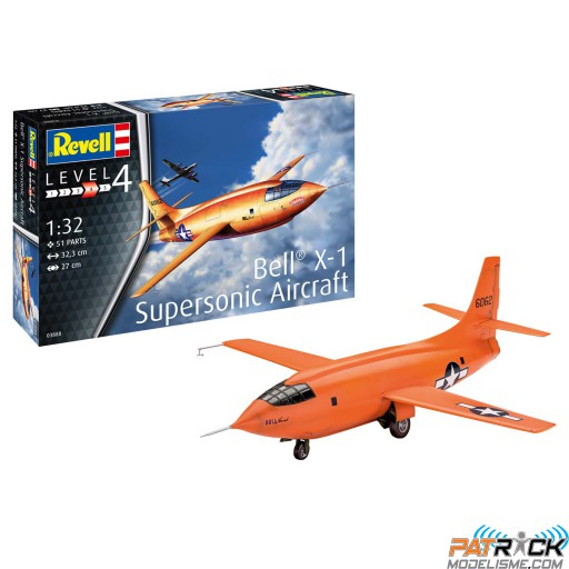 1/32e Revell Bell X-1 (1rst Supersonic)