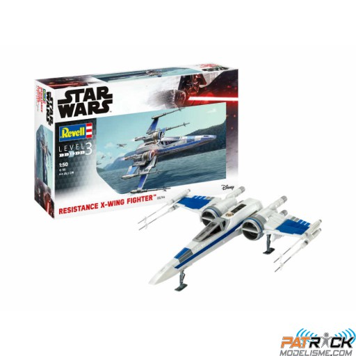 1/50e Star Wars Resistance X-Wing Fighter