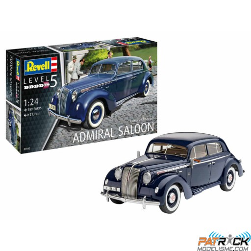 1/24e Revell Luxury Class Car Admiral Saloon