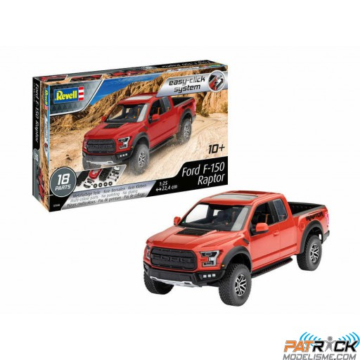 1/25e Revell Ford F-150 Raptor (Easy clic)