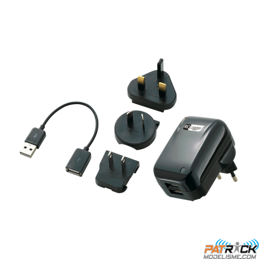 Chargeur Rc Logger double USB