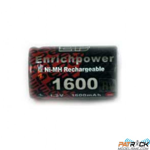 Accu NiMH Enrich power 1600 mAh PROPULSION élément seul 17x28mm