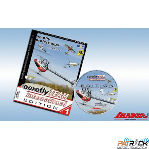 Aerofly professional deluxe AddOn 4 : Aerofly Team International Edition 1
