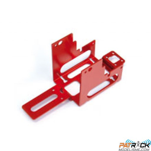 DESTOCKAGE - Cellule ALU rouge (chassis) - EASYCOPTER V2 LUXE