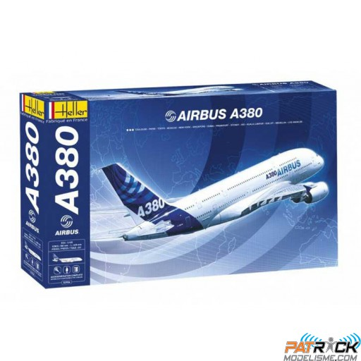 1/125e Heller Airbus A380 set complet