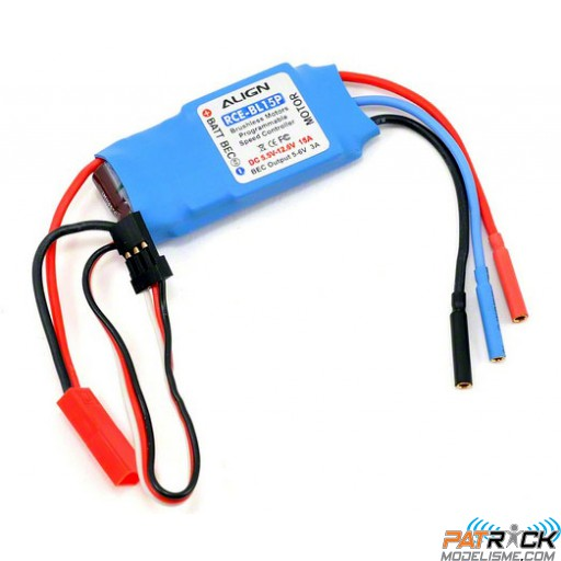 Controleur Brushless Align RCE-BL15P NEW version