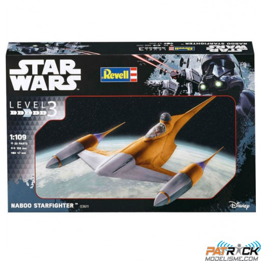 1/109e Revell Star Wars Naboo Starfighter
