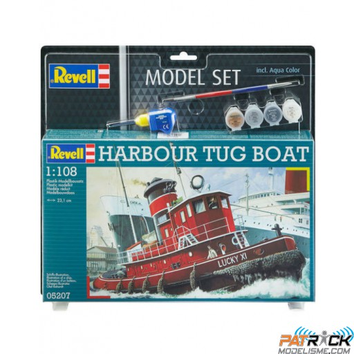 1/108e Revell Model set Harbour Tug Boat