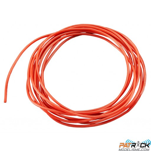 Câble silicone AWG9 - 6.63² rouge (1m)