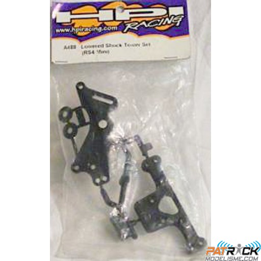 Lowered shock tower set – RS4 MINI