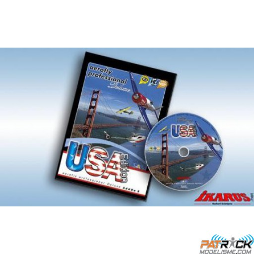 Aerofly professional deluxe AddOn 5 : USA Edition