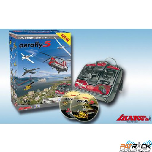 Simulateur Aerofly 5 Game Commander – Version PC - PROMO