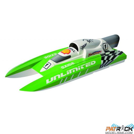 Offshore Navicraft UNLIMITED SPORT Moteur essence 26CC 2.4ghz RTS TH SUR-COMMANDE