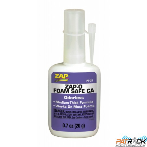 Colle Zap-O Foam Safe CA Odorless 20g