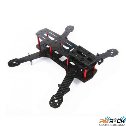 FPV Racer Mini QuadCopter QA-250 Version Carbone - chassis