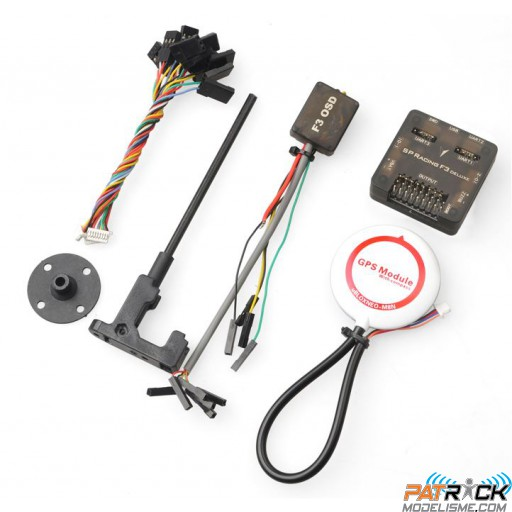 Combo SP Racing F3 deluxe 10DOF GPS M8N OSD F3