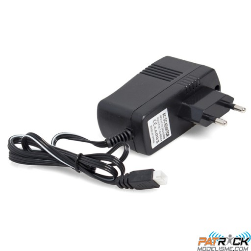 Chargeur mural 220V pour accus Li-On 7.2V