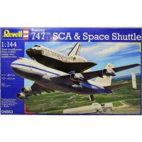 1/144e Revell Space Shuttle & Boeing 747 SCA