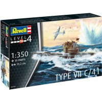 1/350e Revell Sous-marin Allemand Type VII C/41