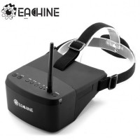 "Lunettes Eachine EV800 5"" 800x480 FPV 5.8Ghz Raceband 40CH Auto-Search + Batterie"