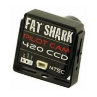 Camera FATSHARK 1/3 Sony CCD 420L av lentille 3.6mm (PAL)