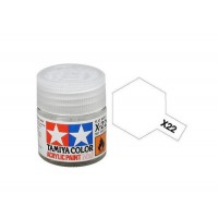Pot Tamiya X-22 Vernis Transparent Acrylique brillant 10ml