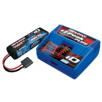 PACK CHARGEUR 2970G + 1 x LIPO 2S 5800MAH 2843X PRISE TRAXXAS