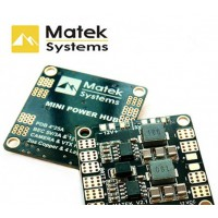 Carte de distribution Matek Mini Power Power Hub BEC 5-12V pour FPV racer