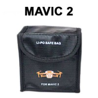 Sac de protection lipo 2 batteries pour Mavic 2