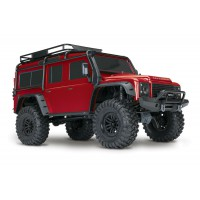 Traxxas TRX-4 Land Rover Defender Scale & Trail Crawler 4WD 1/10 RTR ROUGE