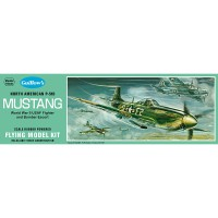 1/25e Guillow's P-51D Mustang Kit 431mm