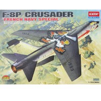 1/72e Academy F-8P Crusader French Navy