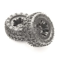 Roues FTX CARNAGE noir 1/10 Monster (2)