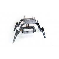 "Support 3 axes Photo ou Camera ALWARE avec train ""Spider Elastic"" pour Drone"