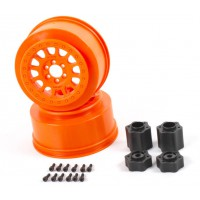 Jante Axial Method 105 - 2.2/3.0'' – 41mm orange (2pcs) 1/10e