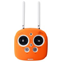 Protection silicone orange pour radio Phantom 3, 4, inspire et M100