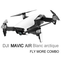 Dji Mavic Air Blanc arctique Fly More Combo - Prêt à voler