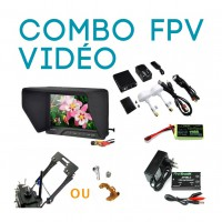 ∆ Combo FPV VIDEO UNIVERSEL en écran 7'