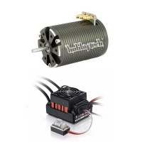 Combo brushless 1/10 ESC Quicrun WP 60A + 10,5T 3200KV