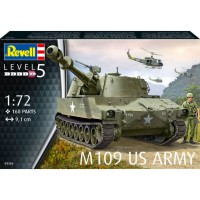 1/72e Revell M109 US Army