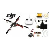 ∆ DJI F450 E300 - NAZA-M V2+GPS + Zenmuse H3-2D+Train+Radio DT7+LiPo 3S+Chargeur
