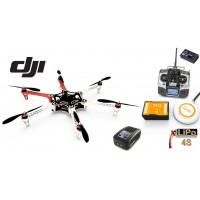 ∆ DJI F550 E300-COMBO EVO V2 - NAZA-M V2+GPS, Radio MX12, Lipo 4000 4S, Chargeur