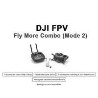 DJI FPV - Fly More Combo (Mode 2) PRE-COMMANDE
