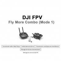 DJI FPV - Fly More Combo (Mode 1) PRE-COMMANDE