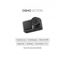 Dji Osmo Action  - DISPONIBLE !
