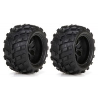 Roues (2) 4WD 1/24 Ruckus