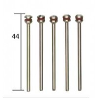 5 supports de rechange axe 2,35x44mm Proxxon MICROMOT