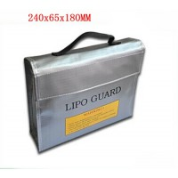 Sac de protection lipo grand format 24x6,5x18 cm LIPO-GUARD