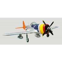 FMS Giant Warbird P47 Silver PNP 1400mm